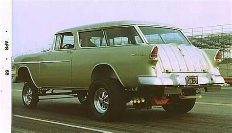 nomad drag car 55 chevy nomad rod gassers pinterest chevy
