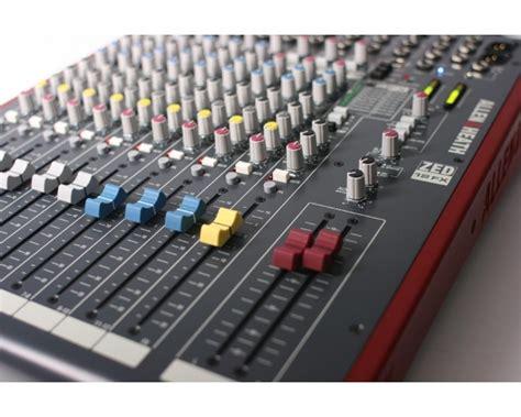 Allen Heath Mixer Live Zed12fx allen heath zed12fx mixer 6xlr 3stereo con effetti