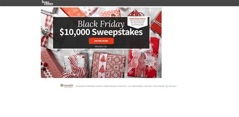 Parents Black Friday Sweepstakes - bhg black friday 10 000 sweepstakes bhg com blackfridaysweeps unlimited entry
