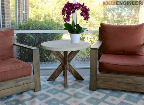 Diy Patio Side Table by 5 Outdoor Furniture Designs You Can Make Yourself Huffpost