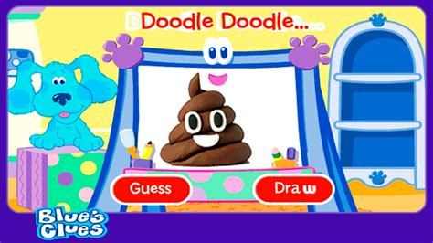 doodle doodle guess and draw blues clues doodle doodle guess e draw nickelodeon nickjr