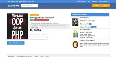 membuat website dengan php oop download source code marketplace full gratis php oop mysql