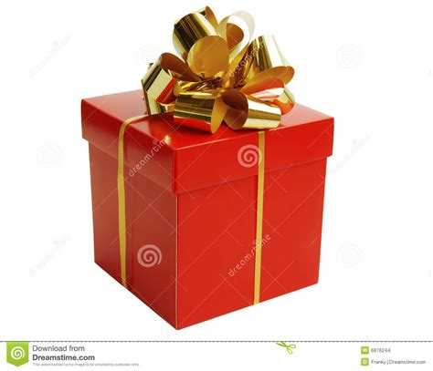 christmas gift box stock photo image of render surprise