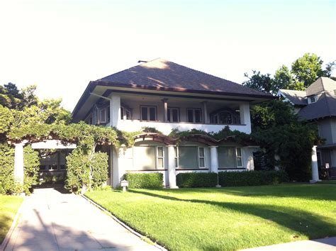 House Pasadena by File Edmund Blinn House Now The Site Of The S City