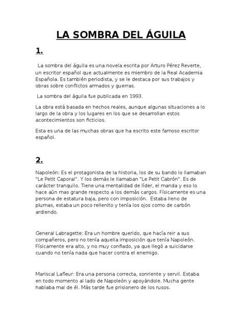 La Sombra Del Aguila | Napoleão | Segurança Internacional