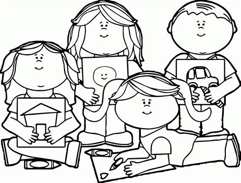 fun coloring pages clipart child at school coloring page az coloring pages
