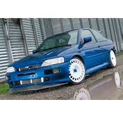 Ford Escort Cosworth Modified Blue Alloy Wheels Motorsport