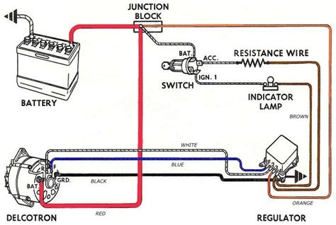 12 volt alternator wiring diagrams 8n 12 volt wiring