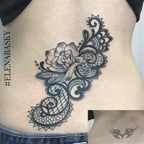 tribal back tattoo cover up lower back cover up best ideas gallery