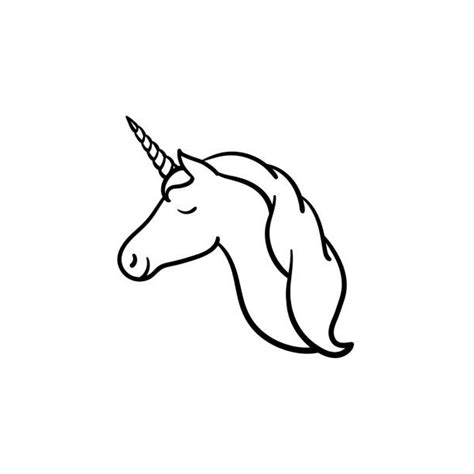 unicorn clipart black and white unicorn clipart black and white royalty free drawing