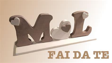 lettere legno lettere di legno compensato fai da te