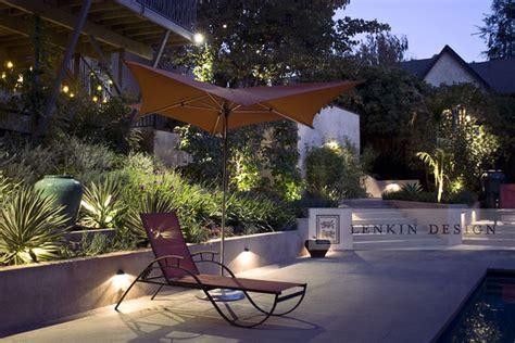 Landscape Lighting Los Angeles Modern Back Yard Lighting Contemporary Landscape Los Angeles By Lenkin Design Inc