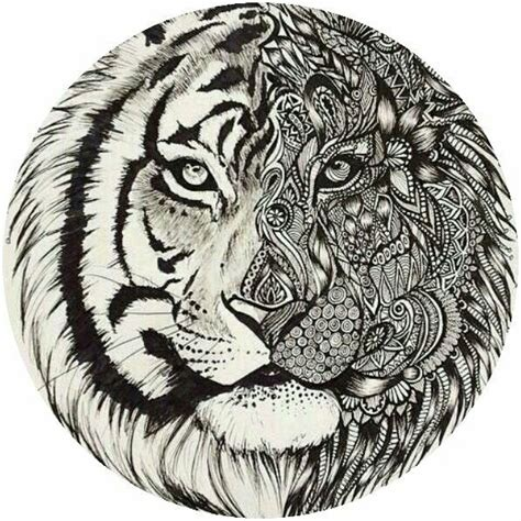 tiger mandala coloring pages adult tiger coloring page colorings pages pinterest