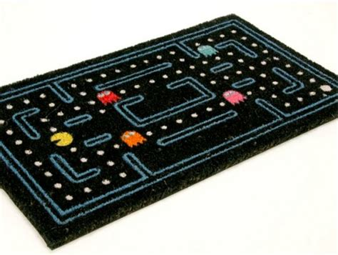 cool doormats space invaders led doormat too cool to wipe your feet on