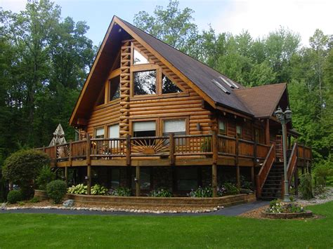 log house floor plans free home plans michigan log home plans