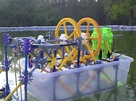 knex boat youtube - How To Make A Knex Boat