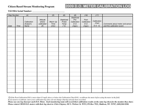Calibration Spreadsheet Template by Best Photos Of Gas Log Record Free Printable Mileage Log