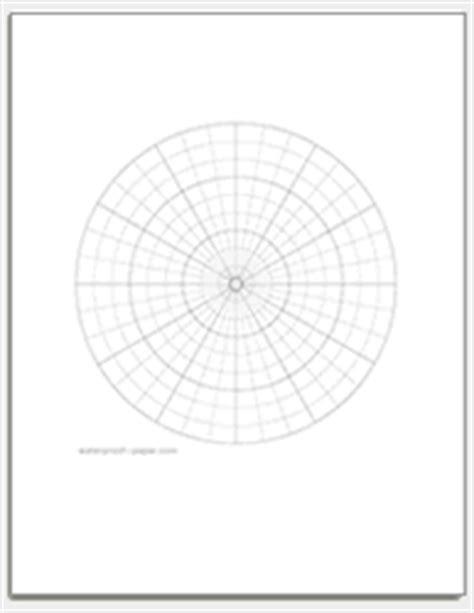 printable polar graph paper radians free polar graph paper printable polar coordinate paper