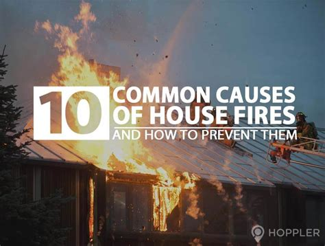how to prevent house fires 10 common causes of house fires and how to prevent them