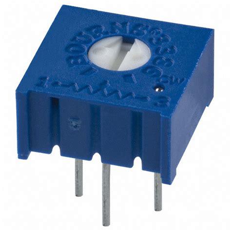 3386 Series 3386p 3386p 1 102 Trimpot Variabel Resistor Presisi 102 1k 3386p 1 502lf bourns inc potentiometers variable