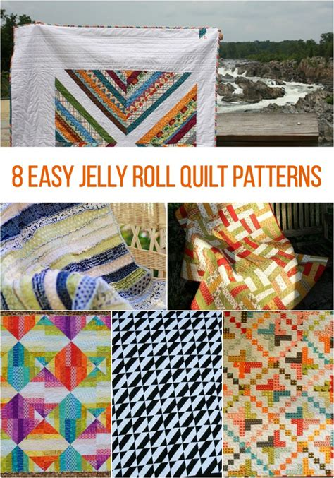 Free Easy Jelly Roll Quilt Patterns by On A Roll 8 Easy Jelly Roll Quilt Patterns