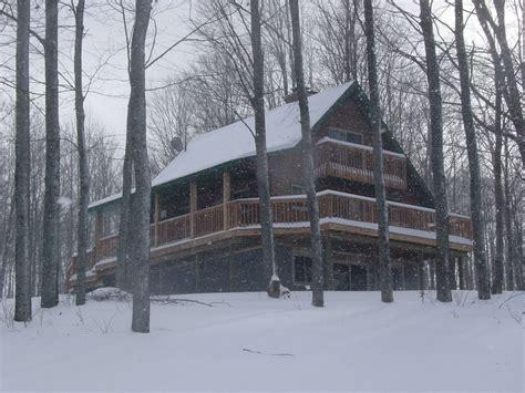 Snowmobile Cabin by Alpine Snow Cabin Gaylord Michigan
