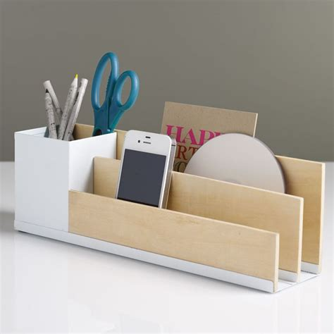 Office Desk Organisers How To Choose Best Designer Desk Accessories And Organizers