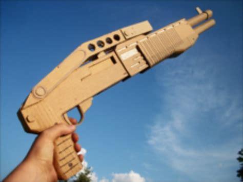 cardboard gun spas  props pinterest