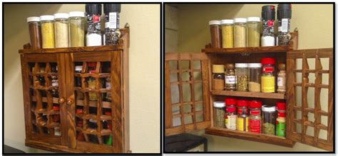 Clearly Delicious » Kitchen Spice Cabinets