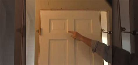 How To Hang An Interior Door how to hang an interior door properly 171 construction repair wonderhowto