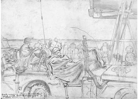 D Day Sketches by D Day Of Normandy Artwork