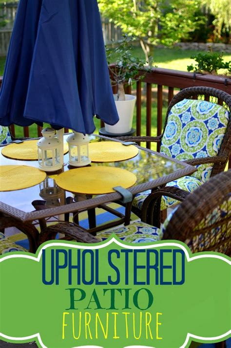 Upholstered Patio Furniture by Upholstered Patio Furniture Place Of Taste