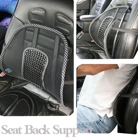 car seat back support autozone l new car seat chair mesh back lumbar support pad cushion