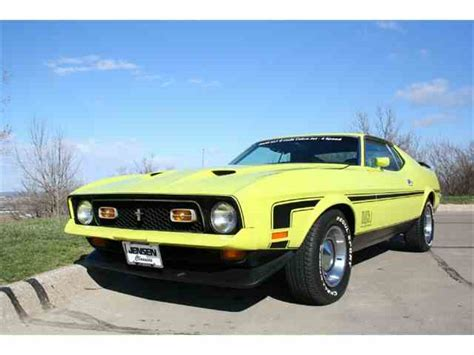 72 mach 1 mustang for sale 1972 ford mustang mach 1 for sale on classiccars 3