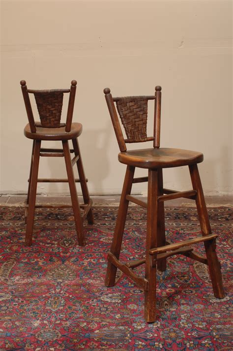 Arts And Crafts Style Bar Stools by Antique Arts And Crafts Rancho Monterey Bar Stools