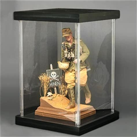 monkey depot acu action figure display case