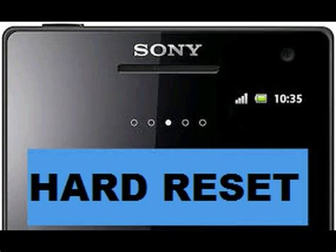 reset android with code all sony android hard reset with flashtool remove