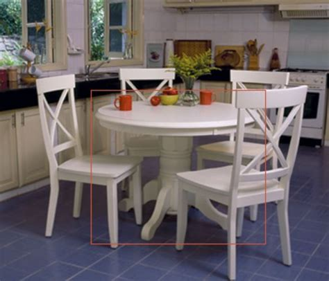 White Kitchen Table Set by Kitchen Table White Kitchen Design Photos
