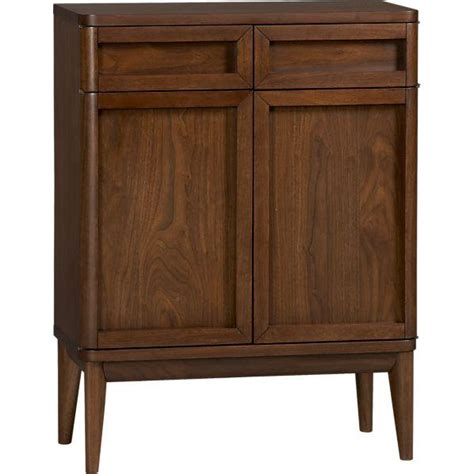 Crate And Barrel Bathroom Furniture Oslo Bar Cabinet Crate And Barrel