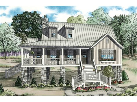 raised house plans maguire raised lowcountry home plan 055d 0847 house