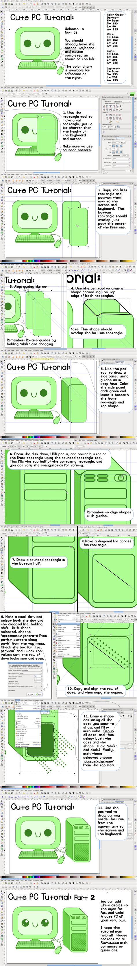inkscape clipping tutorial cute pcs inkscape tutorial part 2 by paradasia on deviantart