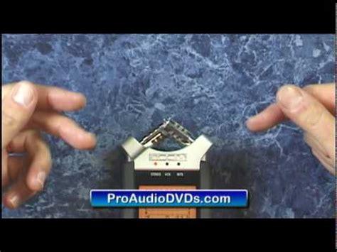 video tutorial zoom h4n zoom h4n field recording tutorial lessonpaths
