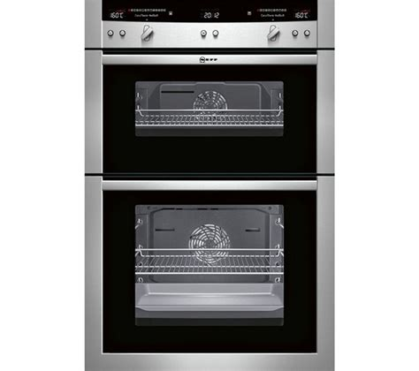 electric oven with induction hob buy neff series 5 u16e74n3gb electric oven stainless steel t40b30x2 electric