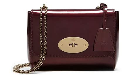 Think Metallic Bags Are Tacky Check Out The Betseyville 24k by Mulberry Mirror Metallic Leather Bags For