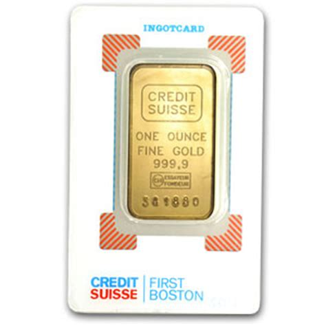 Credit Suisse Formula 1 Buy 1 Oz Credit Suisse 9999 Gold Bars L Jm Bullion