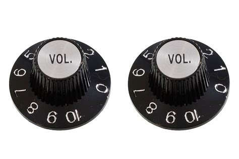 White Witch Hat Knobs by Witch Hat Volume Knobs Allparts