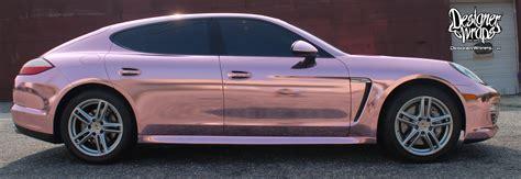 porsche chrome designer wraps custom vehicle wraps fleet wraps color