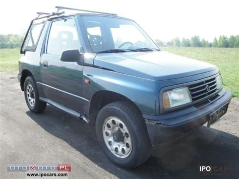 1996 Suzuki Vitara 1996 Suzuki Vitara 4x4 Tanio Car Photo And Specs