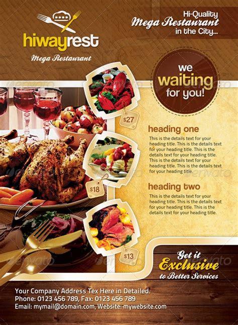 desain brosur makanan ringan contoh banner menu makanan contoh three