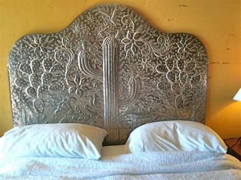 mexican headboards mexican tin headboard tin art from m 233 xico pinterest